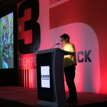 Discurso en el 35 aniversario de G-Shock
