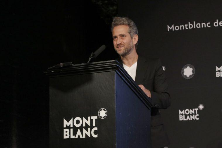 """Discurso en """"Montblanc de la Culture Arts Patronage Award"""""""