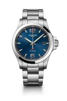 Reloj azul Longines modelo L3-726-4-96
