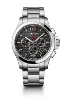 Reloj negro Longines modelo L3-727-4-66