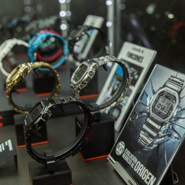 CASIO GSHOCK SIAR MX 2018 Mostrador con relojes en el evento