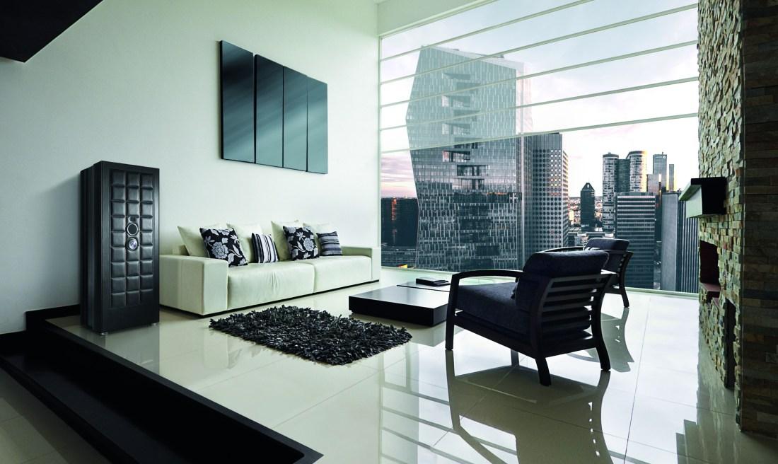 Las apariencias engañan BUBEN & ZORWEG, como en esta sala moderna con vista al exterior