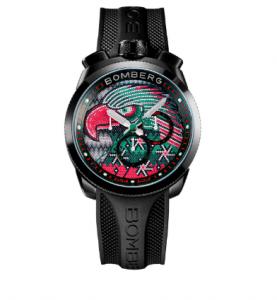 Amor y pasión fina con alta relojería de Bomberg Bolt 68 Águila Mexicana