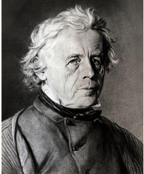 Retrato de Antoine LeCoultre en blanco y negro en la historia de Jaeger-LeCoultre