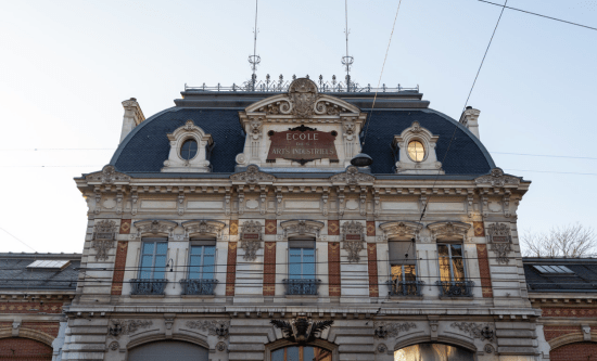 Edificio antiguo HEAD-Genève