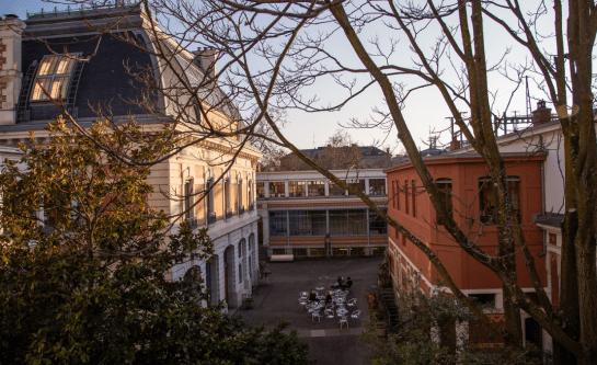 Edificos de la universidad de HEAD-Genève