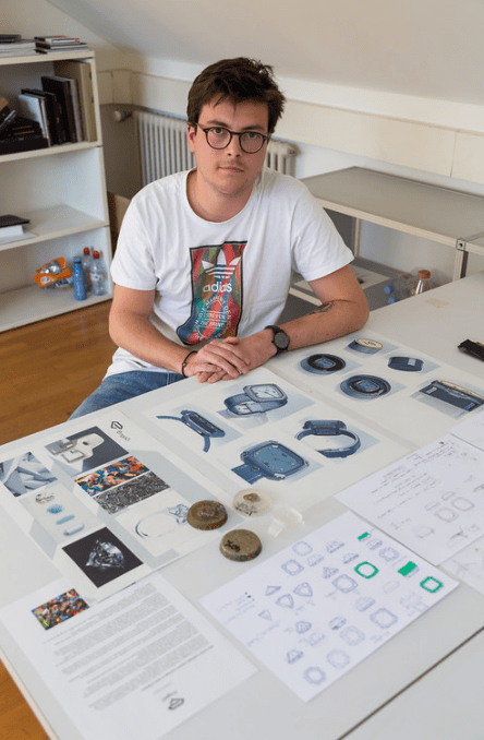 Estudiando diseño de relojes - Kevin Aebi