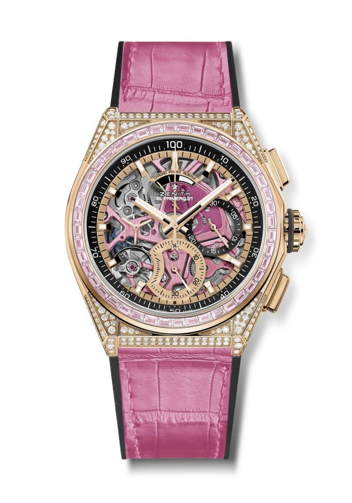 ZENITH DEFY 21 PINK EDITION FRONT