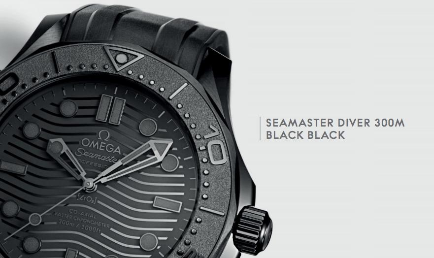 Seamaster Diver Black Black