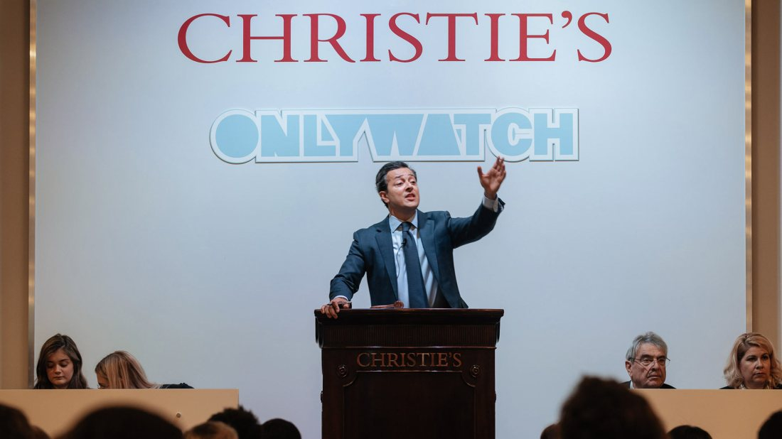 ONLY WATCH 2021 Christie's