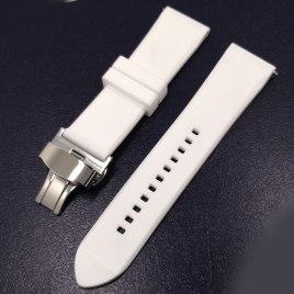 20mm hvit gummireim