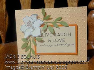 Another Stamp Set at 20% Off:  FIFTH AVENUE FLORAL