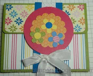 Another Project with ICE CREAM PARLOR Sale-a-bration FREEBIE