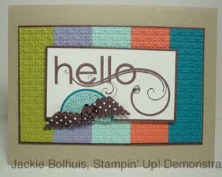 Stampin' Up! My Friend Stamp Set