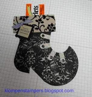 Witches Boot (Holiday Stocking Die)