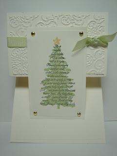 Evergreen–Easy Christmas Card
