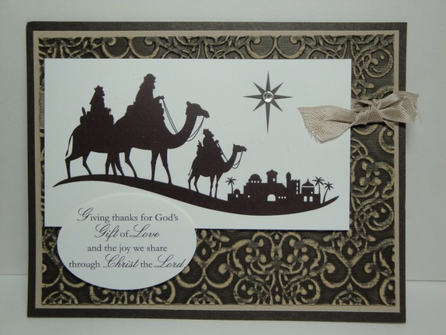 Day #3:  30 Days of Christmas Cards!