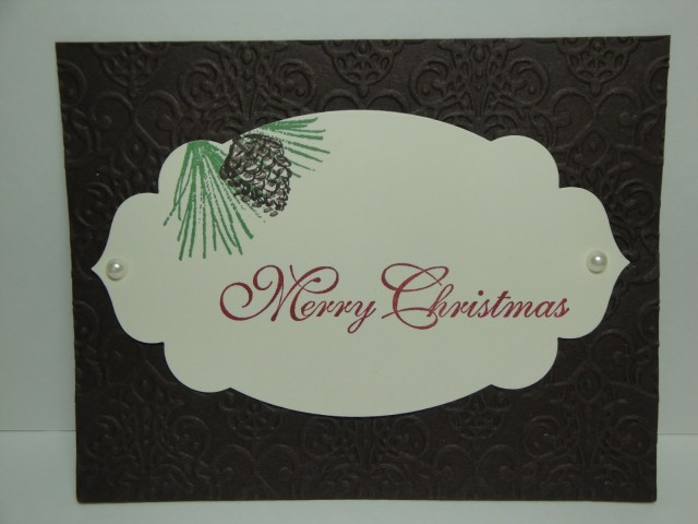 Day #6:  30 Days of Christmas Cards!