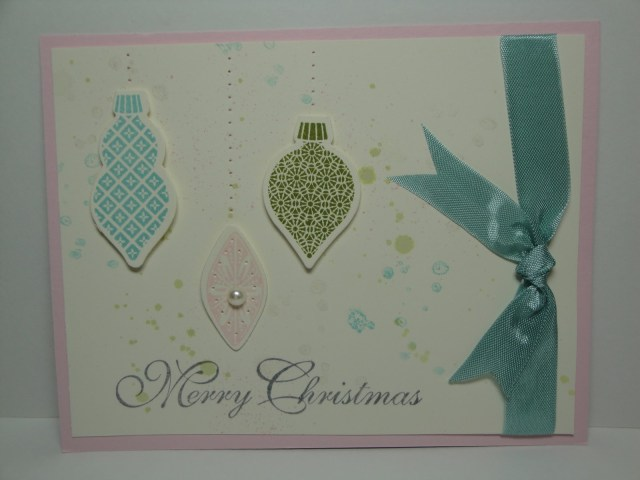 Day #20:  30 Days of Christmas Cards!