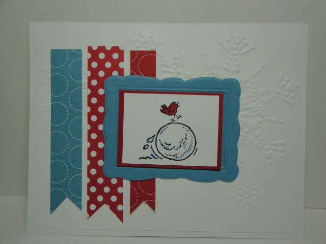 Day #22:  30 Days of Christmas Cards!