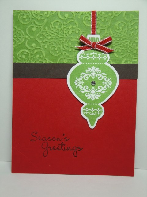 Day #27:  30 Days of Christmas Cards!