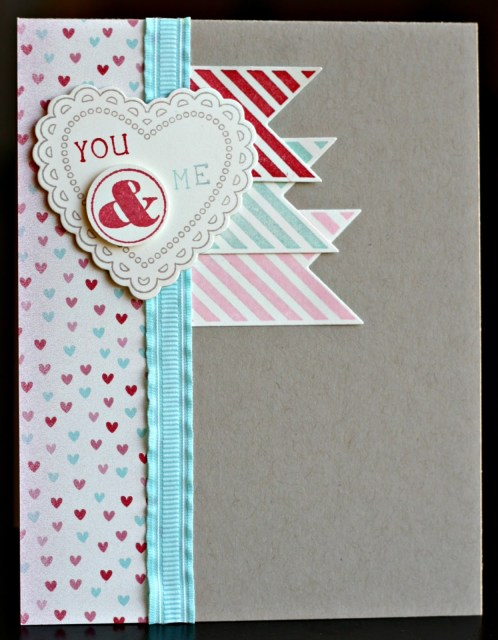 Stampin' Up! Hearts A Flutter–LOVE IT!