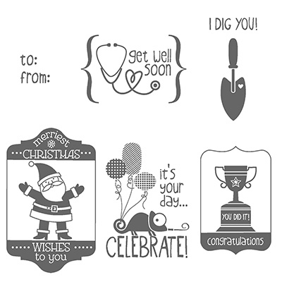 What's That Wednesday: Tag It Stamp Set
