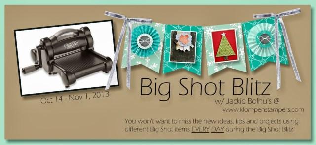 Big Shot Blitz — Day 9: Dress Up Framelits