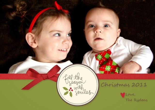 Easy Way to Make Christmas Cards