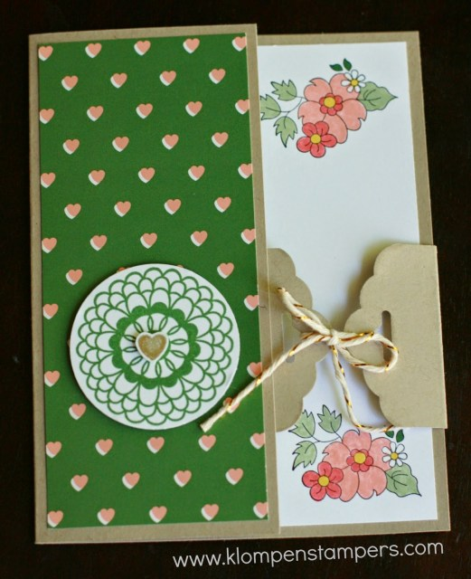 Scalloped Tag Topper Punch: Day 3