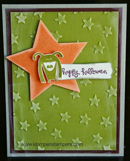 Lucky Stars Embossing Folder: Day 3