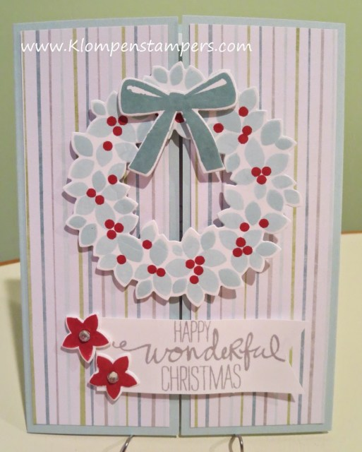 """Another """"Wreath Card"""""""