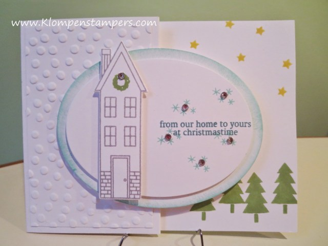 """Another HOLIDAY HOME card….Great """"Putzy"""" Set!"""