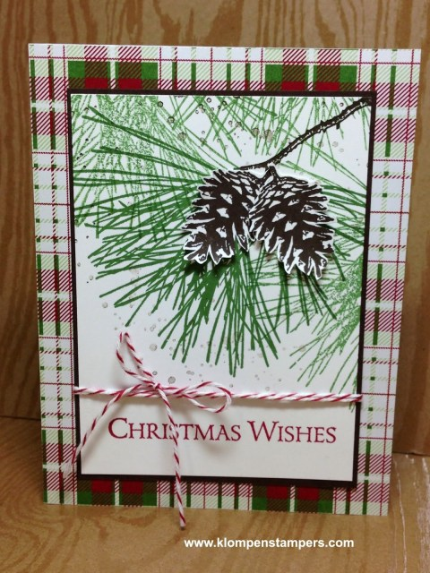 MORE Ornamental Pines Cards