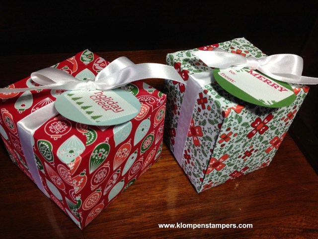 More Gift Boxes….oh so addicting!
