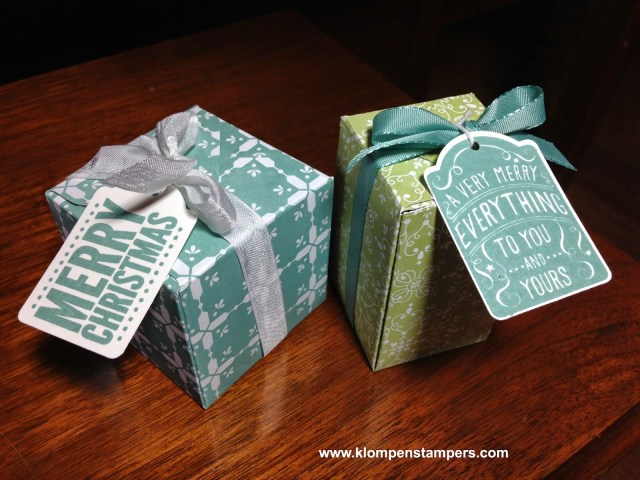 Have You Made Your Gift Box Today?
