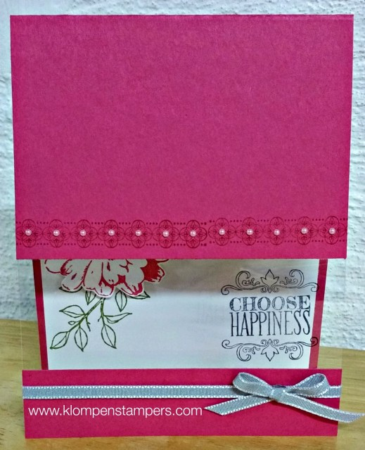 Another Card Using Window Sheets
