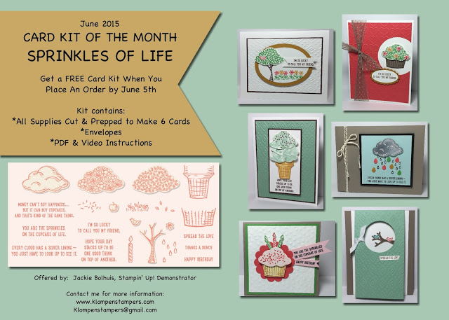 Sprinkles Of Life Card Kit
