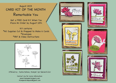 FREE On-Line Stamp Class!!!!