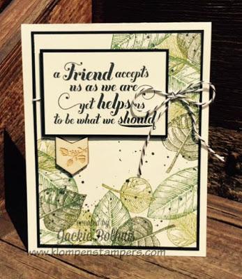 A Friend…..