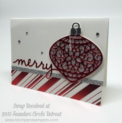 Love the BIG Ornaments