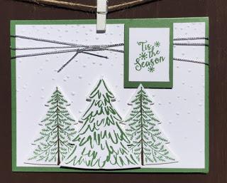 Peaceful Pines–Great VERSATILE Stamp Set
