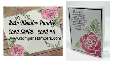 Rose Wonder Card Series–#8