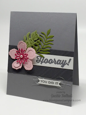 More Ideas With Botanical Blooms–Another Card Series