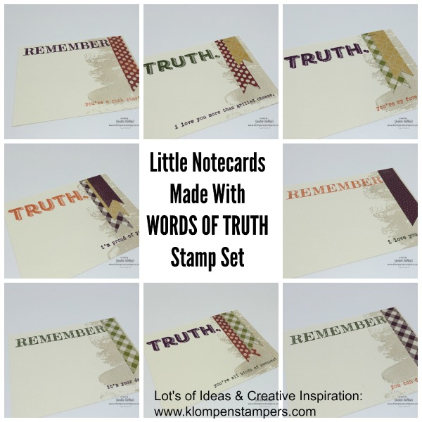 Words Of Truth Card Series
