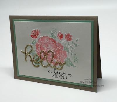 Birthday Blooms Card Series–#4