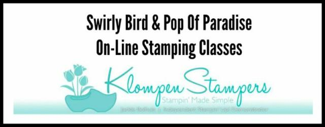 New On-Line Stamping Classes