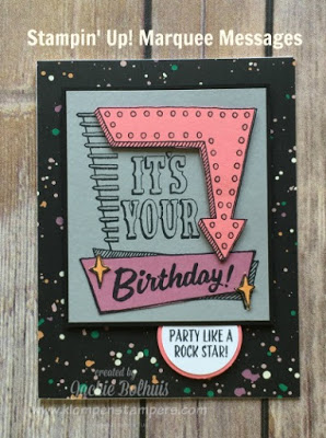 Marquee Messages Card Series #2