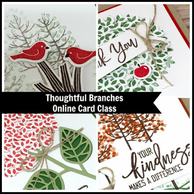 Thoughtful Branches Online Card Class