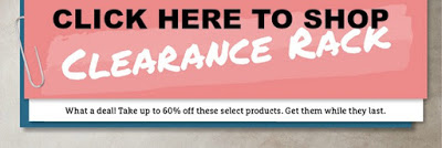 Clearance Rack Updated–GREAT DEALS